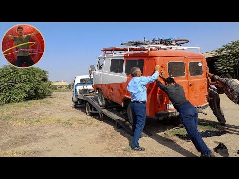 A Hole In The Road - Tow Truck Tajikistan - Ep 185