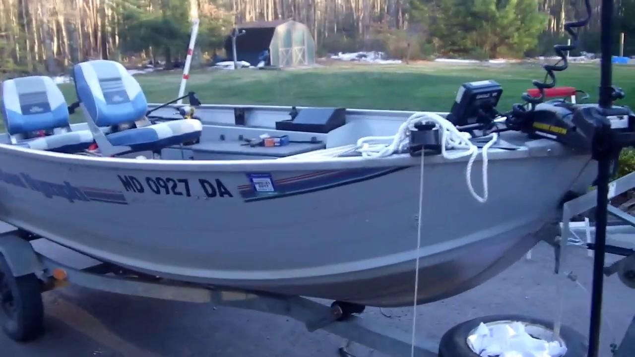Boat Deck Modification 14ft Aluminum Boat