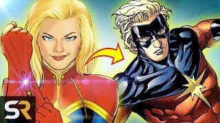 Captain Marvel's Comic Book Origins Explained