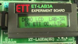MICROCONTROLLER Z-80 LAB 3 LCD DISPLAY