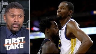 Download Kevin Durant needs to stop beefing with Patrick Beverley - Jalen Rose | First Take Mp3 and Videos