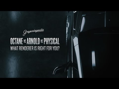 Octane vs Arnold vs Physical: What Cinema 4D Renderer is Right for You?