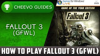 How To Play Fallout 3 Pc Gfwl *2020*