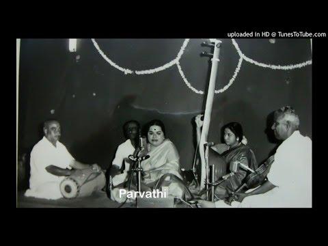ML Vasanthakumari-Balagopala-Bhairavi-Adi-Dikshitar