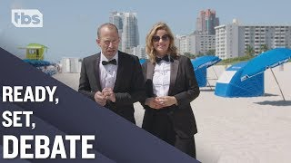 A Debate Showdown in South Beach | Full Frontal on TBS