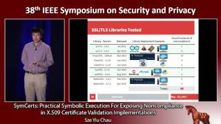 SymCerts: Practical Symbolic Execution For Exposing Noncompliance in X.509 Certificate Validation