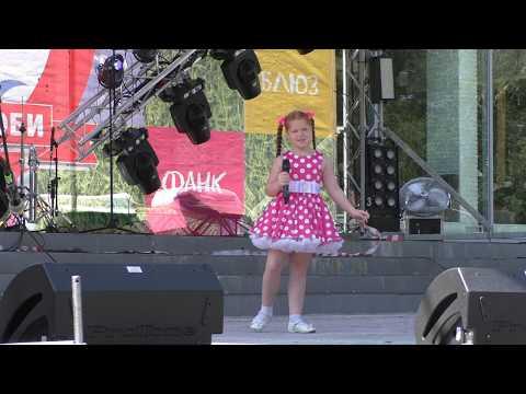 """Фестиваль популярной музыки """"Городок-на-Оби"""" 2019) Открытие и детский вокальный конкурс."""