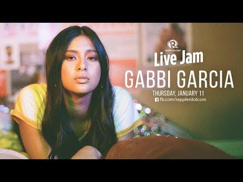 Rappler Live Jam: Gabbi Garcia