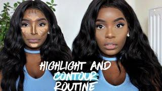 HIGHLIGHT & CONTOUR ROUTINE - Brown/Dark Skin