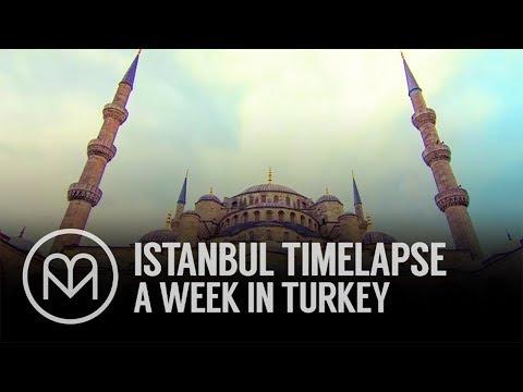 Istanbul Timelapse - A Week in Turkey