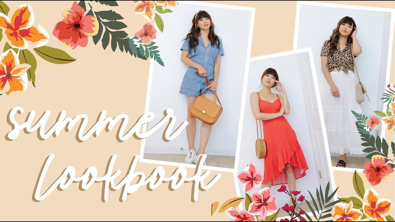 SUMMER LOOKBOOK 2019 // easy outfit ideas! 6