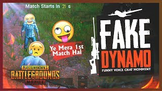 PUBG MOBILE LIVE | FAKE DYNAMO IS HERE ???? ???? | CONQUEROR PLAYER ACTING LIKE NOOB