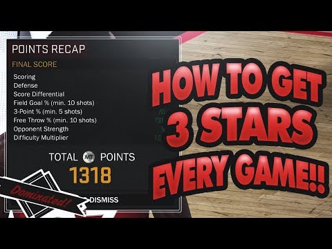HOW TO GET 3 STARS IN EVERY DOMINATION GAME - NBA 2K18 MYTEAM!!