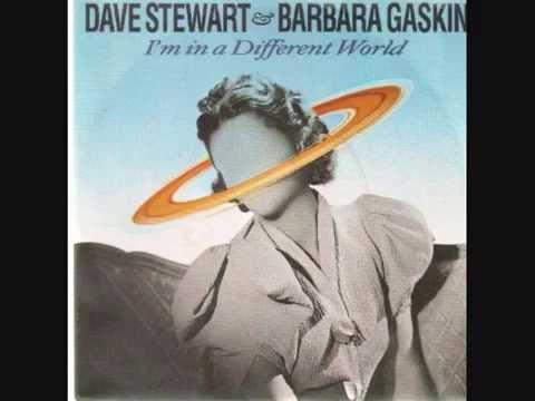 Dave Stewart & Barbara Gaskin - I'm In A Different World (Extend Version)
