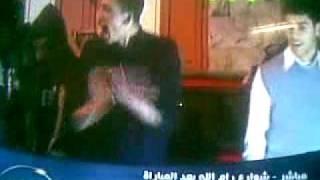 فرحة الشعب الفلسطينى بفوز منتخب مصر على كلاب الجزائر