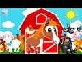 BABY TV - Learn Farm Animals Sound Video For Children Toddlers Babies ✅ Babytv Cartoon Educational
