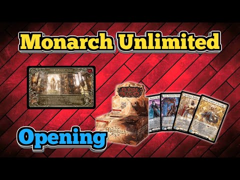 Monarch Unlimited Box Opening |