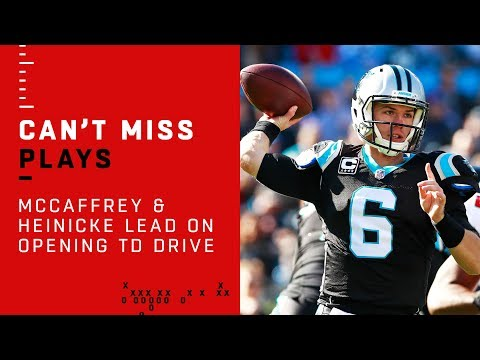 McCaffrey & Heinicke Lead Panthers on Opening TD Drive