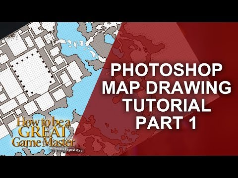 Great Game Master - Drawing a temple and cave map Part One - GMTips