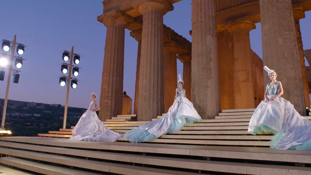 Dolce\u0026Gabbana Alta Moda, Valley of the Temples, July 2019