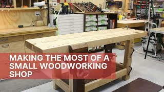 Small Garage Workshop Ideas (2019) | Woodshop Ideas | Making The Most of Your Space