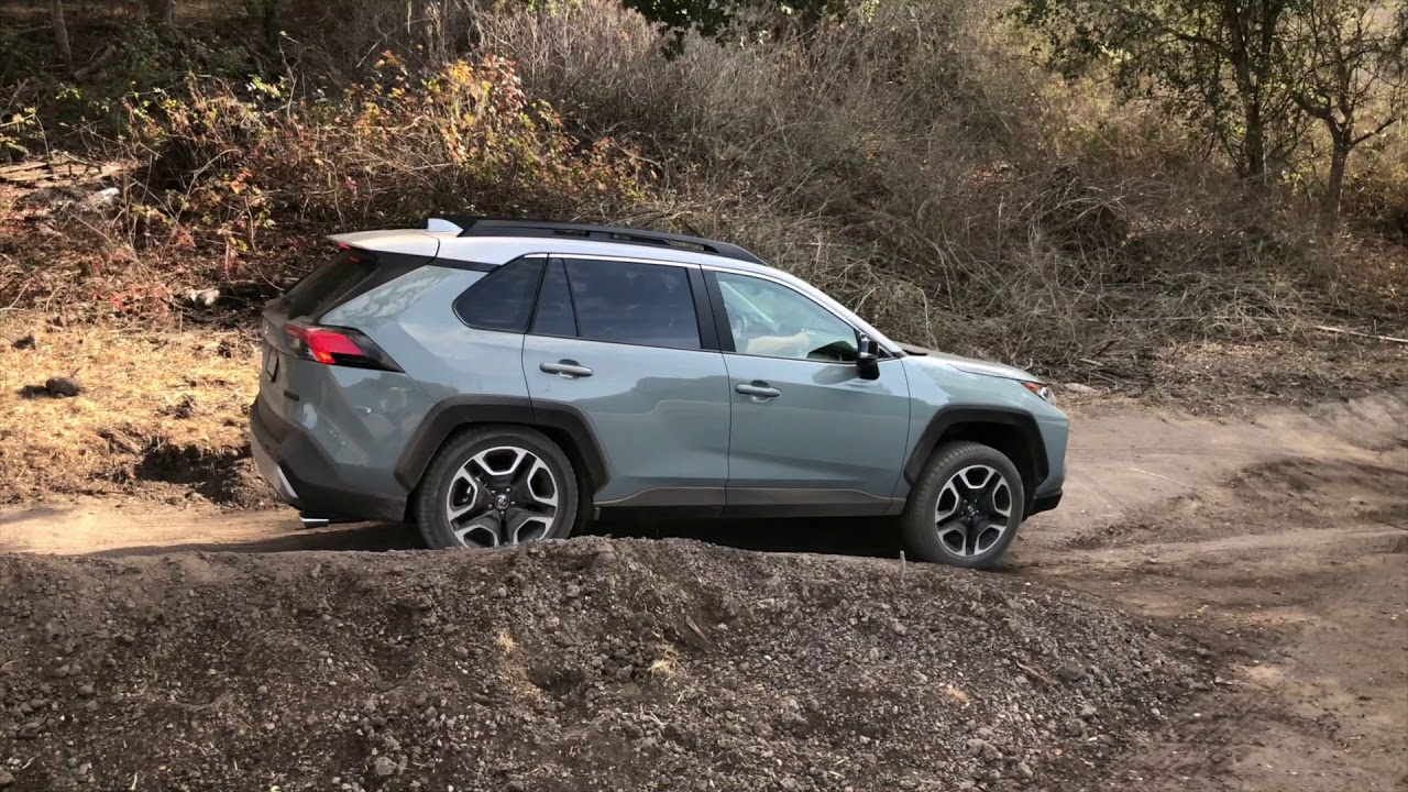 2019 Toyota Rav4 Adventure Off Road Youtube