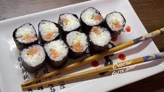 Как сделать вкусные суши-роллы в домашних условиях