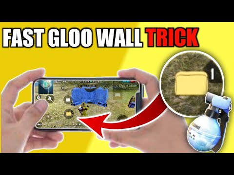 How To Use Gloo Wall Faster In Free Fire