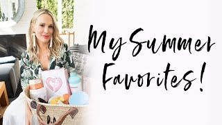 My Summer Favorites | Molly Sims 2018