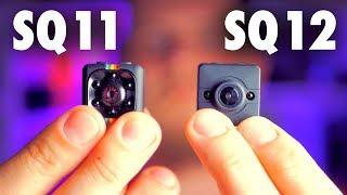 Мини Камеры SQ11 или SQ12. Какая Лучше?