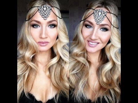Красивые смоки айз, макияж для блондинок
