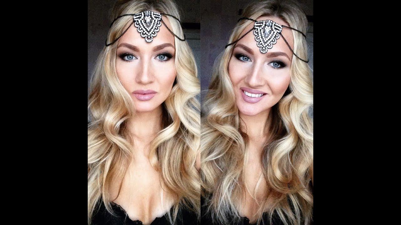 красивый макияж для блондинок фото