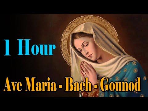 Ave Maria - Bach - Gounod - Relaxing Classic Piano Music - 1 HOUR