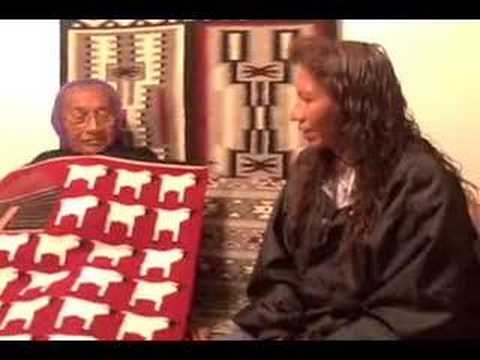 Navajo Pictorial Rug Weaver Sarah Descheny Video