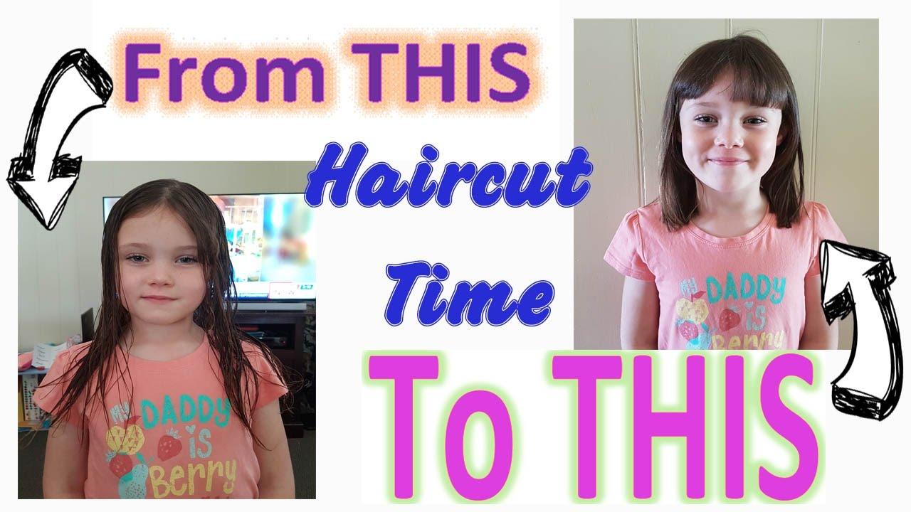 Sadies 6th Bday Haircut Black Avenue Hairdressing Youtube