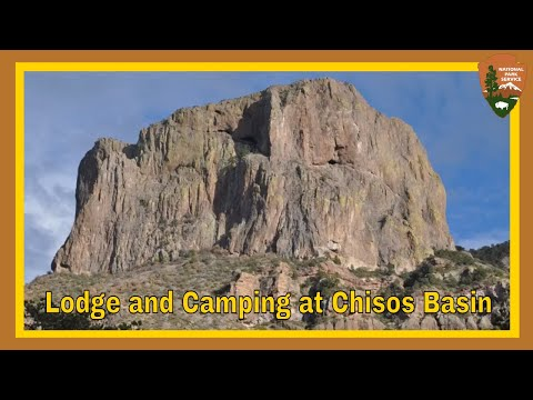 Lodge And Campground At Big Bend National Park, Texas