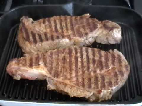 Rib Eye Steaks - Grilled Steak Recipe - Steak Tips