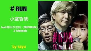 小室哲哉  feat.  神田沙也加(TRUSTRICK)& tofubeats  #RUN  歌ってみた  by sayu