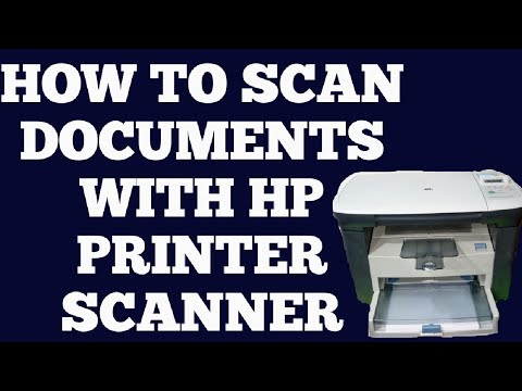 HP LASERJET M1005 MFP SCANING A DOCUMENTS || How To Scan Documents With Hp Printer || Hindi ||