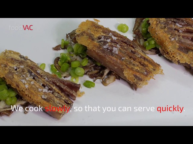 foodVAC Pig Ear Terrine Regeneration