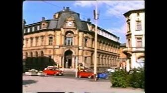 Meiningen 28 07 1989 - Töpfemarktfest und Innenstadtrundgang