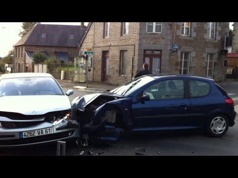 Accident entre deux voitures youtube - Coup du lapin accident de voiture ...
