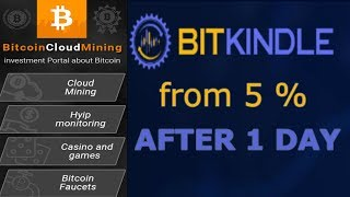 Bitkindle - cryptocurrency & forex trading firm with 5% of daily income