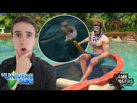 CAS + VISITE DE SULANI ! Les Sims 4 : Îles Paradisiaques