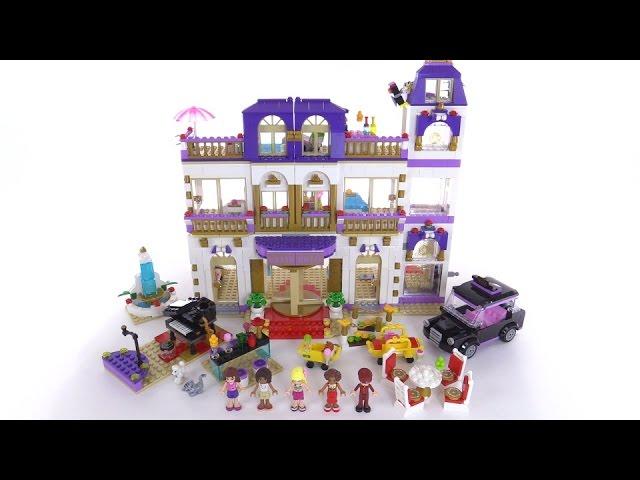 Lego Friends Heartlake Grand Hotel Review Set 41101 Youtube