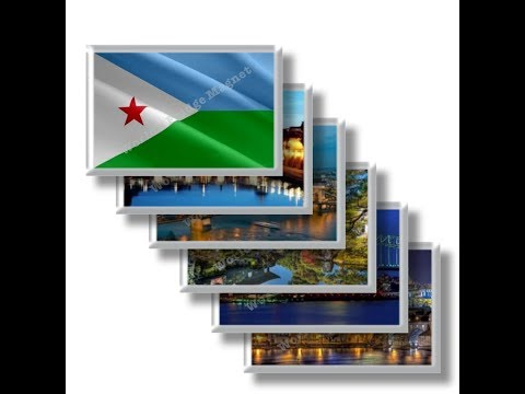 DJ - Travel in DJIBOUTI - rectangular magnets and souvenirs