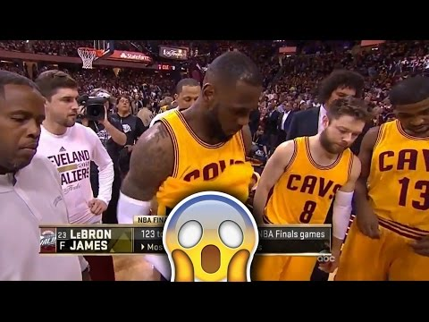 LeBron James Accidentally Flashes Penis On Television in Viral VIDEO!