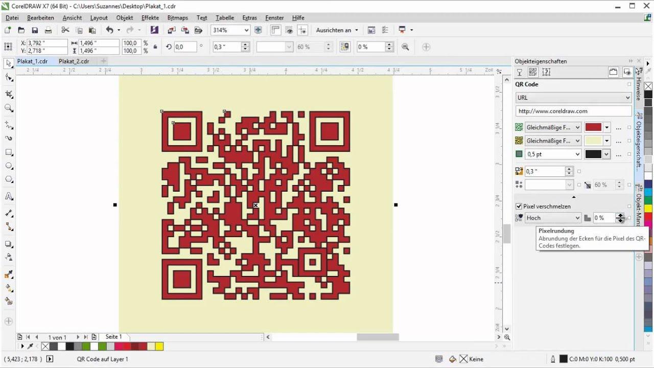 Einen Qr Code Erstellen Und Ein Logo Einbetten