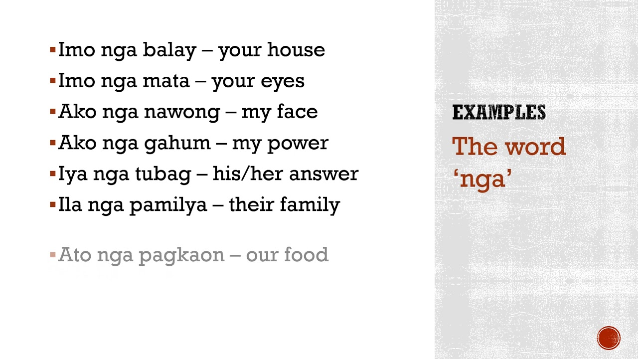 English To Cebuano Useful Cebuano Phrases Mad Monkey Hostels Used to ask someone politely to move so that you can get past. to cebuano useful cebuano phrases