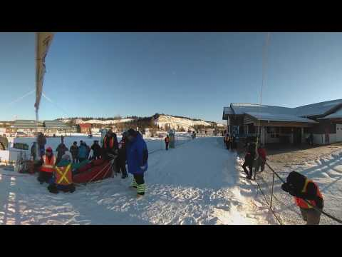 2017 Yukon Quest 300 Start - Live Stream